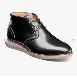 NWT Florsheim FUEL  Plain Toe Chukka Boot 8W